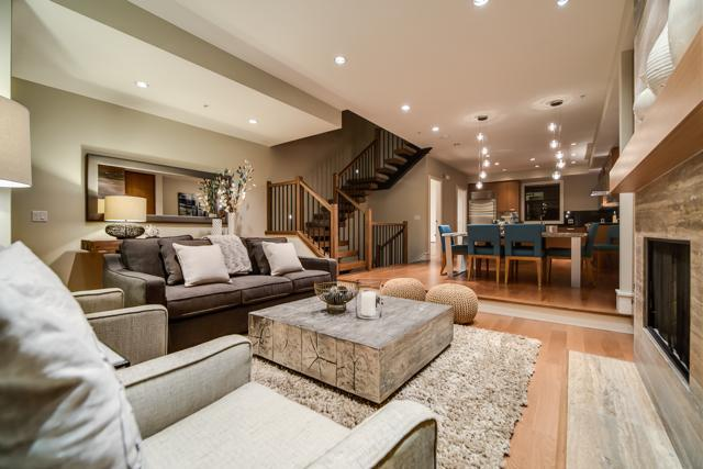 Open concept - beautiful contemporary living space - Whistler Ideal Accommodations :Deluxe 4 bdrm plus media room - Whistler - rentals