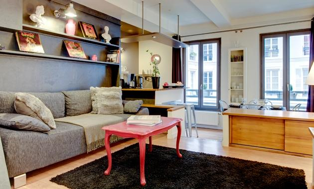 Apartment Montmorency holiday vacation apartment rental france, paris, 3rd arrondissement, marais district neighborhood, parisian apartment to - Image 1 - 3rd Arrondissement Temple - rentals