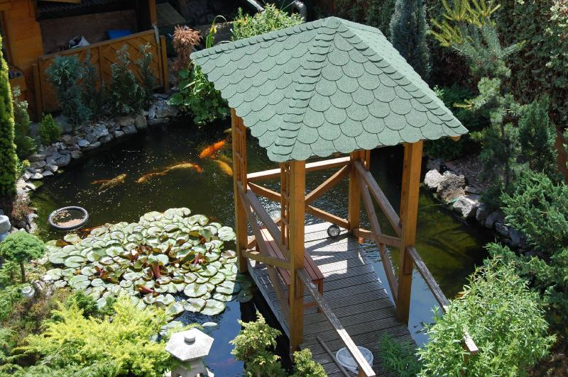 Garden with koi pond - holiday appartment - Mechernich - rentals