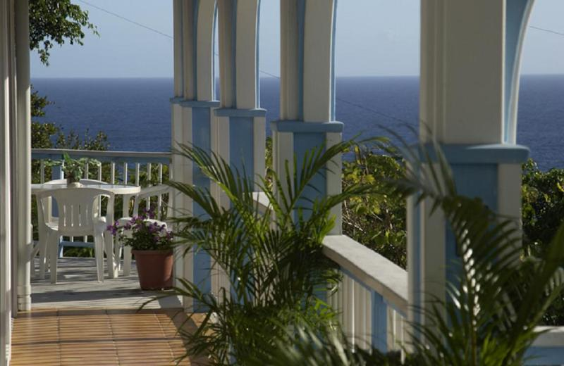 Villa Sundance Balcony Views - Villa Sundance-3 Bed/3 Bth with Pool, Spa & Views! - Cruz Bay - rentals