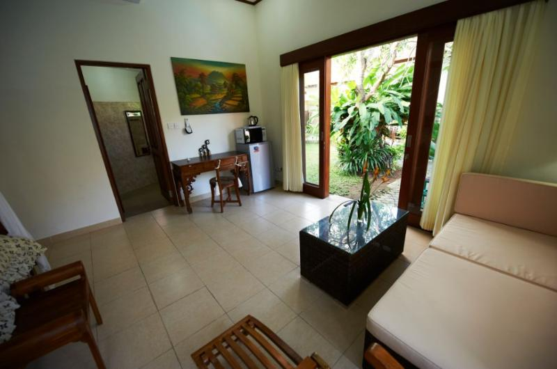 This room has 38 square meters. - House for rent in the villa with pool. Sanur, Bali - Sanur - rentals