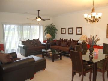 Living room - Premium 3 Bedroom Villa at Myrtlewood - Pools/Jacuzzi/Golf - Myrtle Beach - rentals