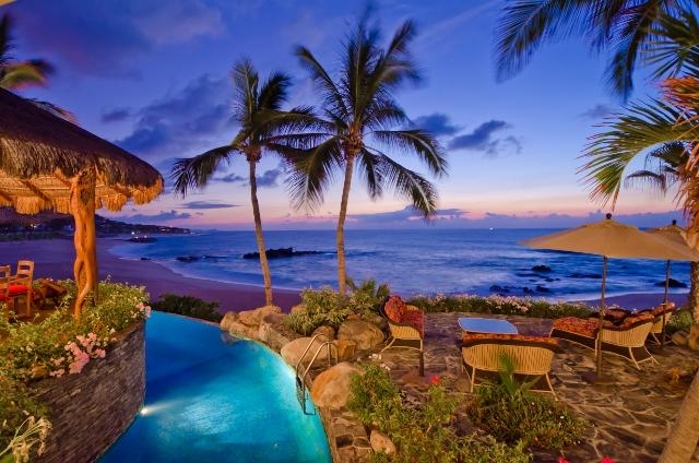 Terrace - Casa Captiva, Incredible 5 bd beachfront Villa - San Jose Del Cabo - rentals
