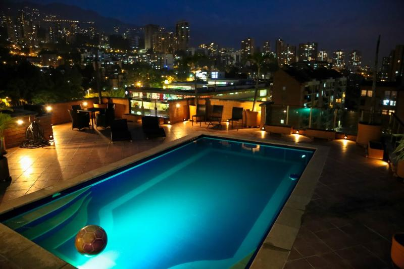 360 Degree MILLION $ PENTHOUSE, private POOL JACUZ - Image 1 - Medellin - rentals