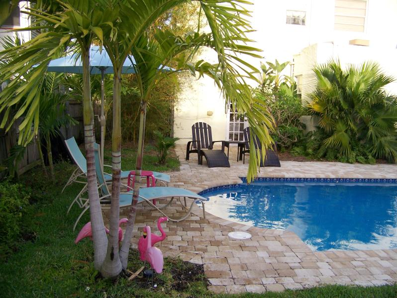 Vintage Spanish revival house with pool - Image 1 - Lake Worth - rentals