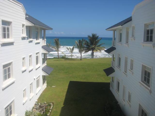 The ocean is just there! - 1BR Beachfront Cabarete E-3 - Cabarete - rentals
