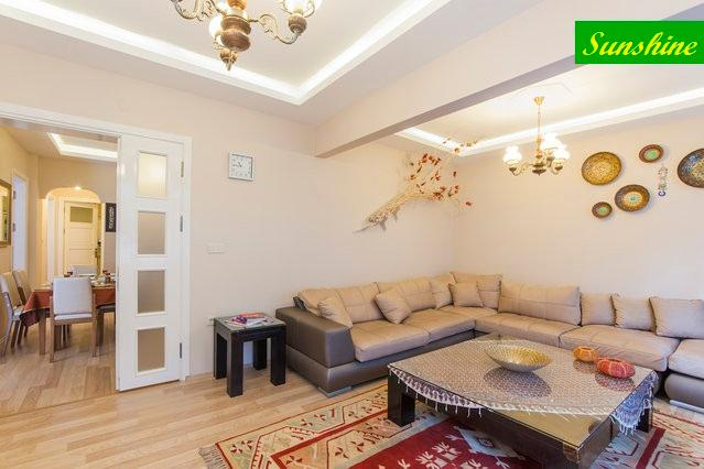 A large living room with a comfortable sitting group. - Sunshine, Comfort in the Old City - Istanbul - rentals