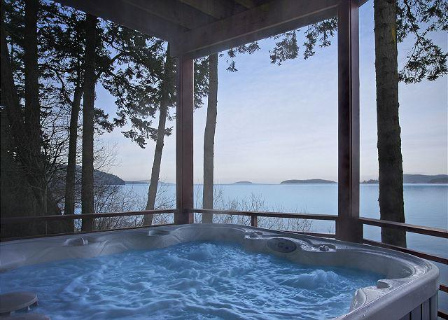Waterfront Home with Hot Tub!! - (Channel Heights) - Image 1 - San Juan Island - rentals