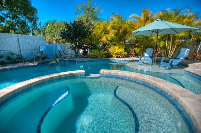Pool 2 - Beach Bliss - Holmes Beach - rentals