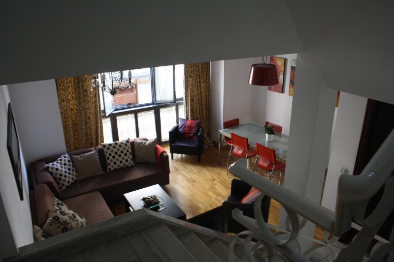 living room - Casa Campana, a house in the center of Seville - Seville - rentals