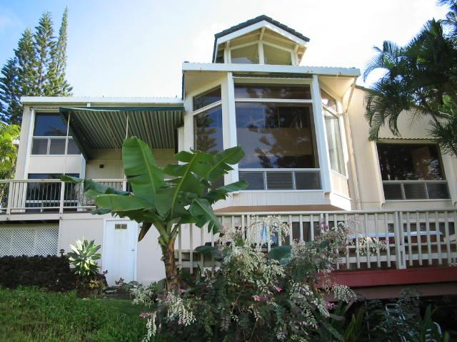 Front of House - Oceanfront Property on Private Bluff - Princeville - rentals