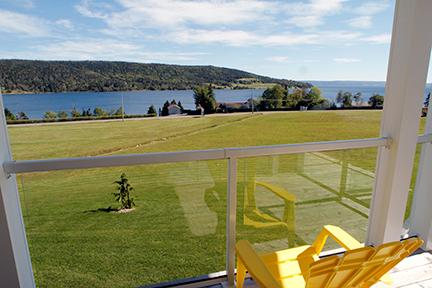 Views from the condos - #46 Aster 2, Baddeck NS - Baddeck - rentals