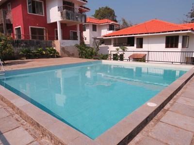 Pool - 50) 5* VILLA  WITH STAFF in BRITONA sleeps 8 - Goa - rentals