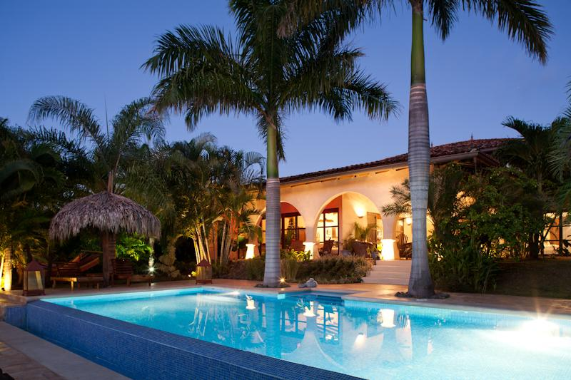 House at sunset - Tropical villa with ocean & jungle view &Maid serv - Guanacaste - rentals