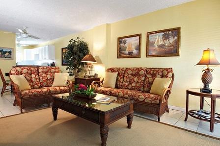 Living Room - Groundfloor - #05 Harbour Heights 7MB - Seven Mile Beach - rentals
