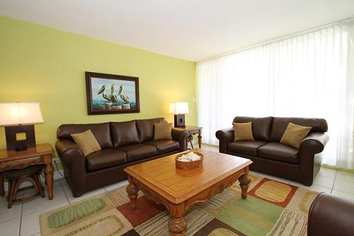 Living Room - Bchfrnt Beauty Sleeps 6 - #27 Harbour Heights 7MB - Seven Mile Beach - rentals