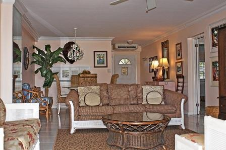 Unit 33 Living Room - Comfort & Style Grndfl - #33 Harbour Heights 7MB - Seven Mile Beach - rentals