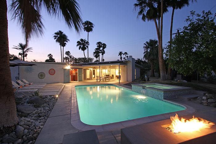 Another Beautiful Palm Springs Evening at Via Jacques - Via Jacques--All New With A Wink to 1959 - Palm Springs - rentals