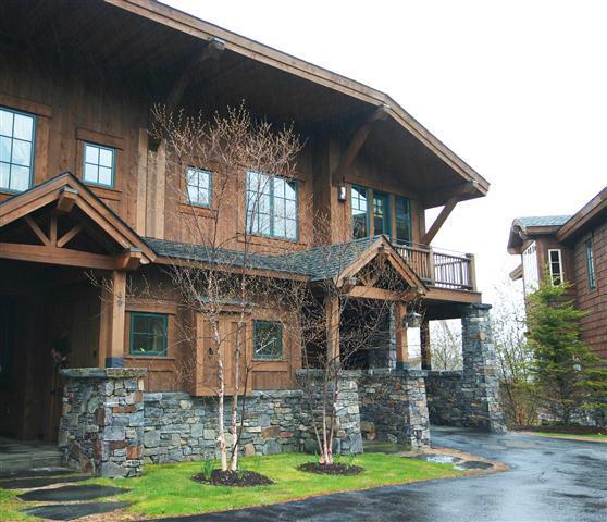exterior - Spruce Peak Mt. Cabin 91 - Stowe - rentals