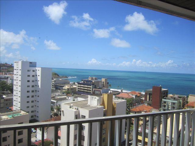 Balcony - 4 bedroom apartment with sea views - Salvador - rentals