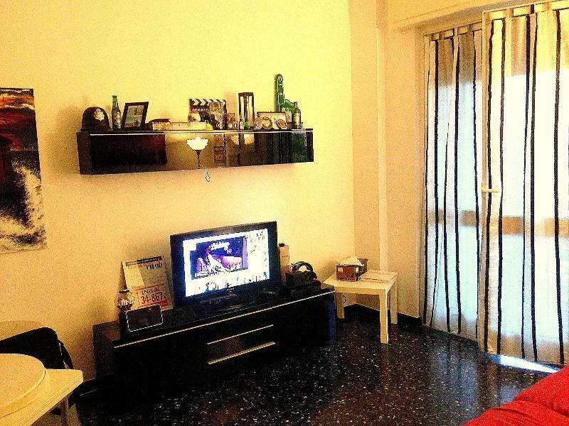 Living room fully equipped - Smart Fully furnished Flat//Great to Cruise/Ferry - Savona - rentals