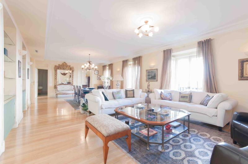 Main lounge - Luxurious flat in old quarter Las Letras - Madrid - rentals