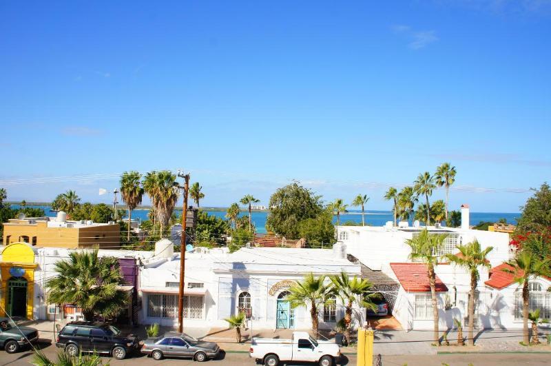 Palapa view - Casa Tres Puertas just one block to the Malecon - La Paz - rentals