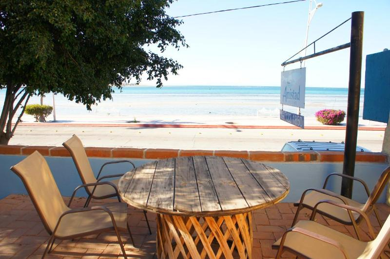 Ocean View Patio - Casa Cuevas Right in the Malecon - La Paz - rentals