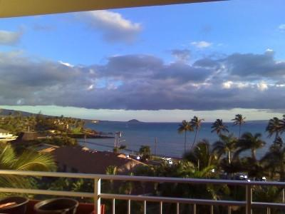 View from Penthouse Lanai - Ocean View Penthouse - Kihei - rentals