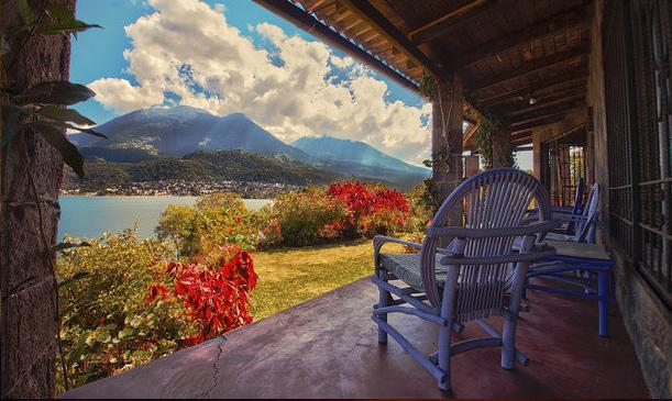 House on a volcano - amazing views! - Image 1 - Santiago Atitlan - rentals