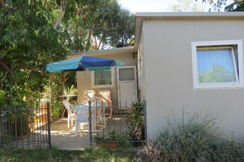 Bungalow Vista Bar - Bungalow for rent at campsite Bella Vista - Albenga - rentals