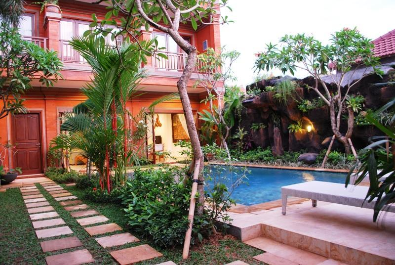 Front View of the Villa - Villa Asih, best located in the centre of Sanur - Sanur - rentals