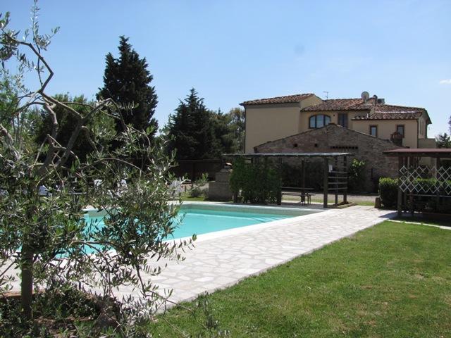 Casa Rossa - Swimming pool - Agriturismo Casa Rossa - Tulipano - Peccioli - rentals