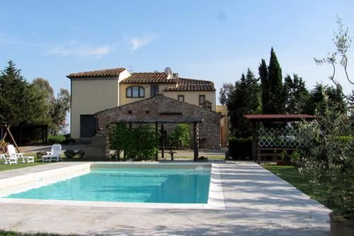 Casa Rossa - Swimming pool - Agriturismo Casa Rossa - Girasole - Peccioli - rentals