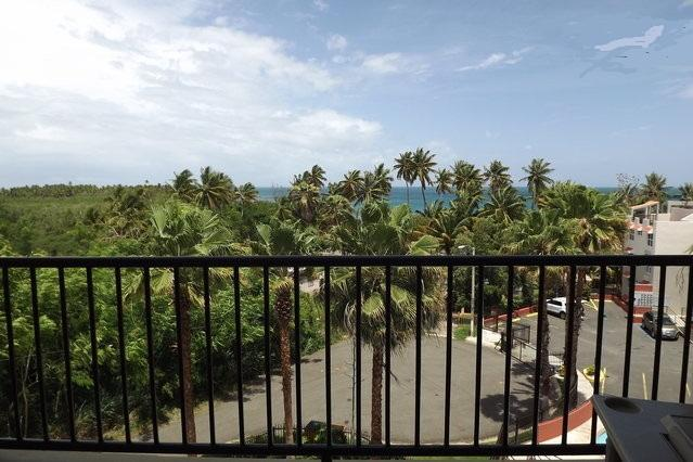 The view from our balcony - Awesome 2B/2B Ocean View PH & Wifi - Cabo Rojo - rentals