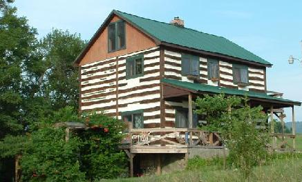 Refurbished 1800's log cabin in a country setting - Image 1 - Orrstown - rentals