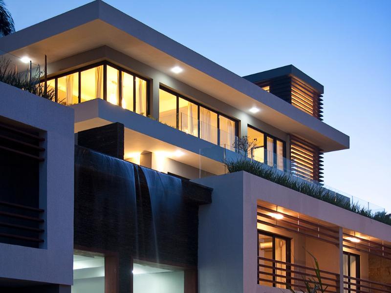 Evening view of the duplex - Vue du duplex le soir - New Luxurious Duplex With A Beautiful Ocean View A - Las Terrenas - rentals