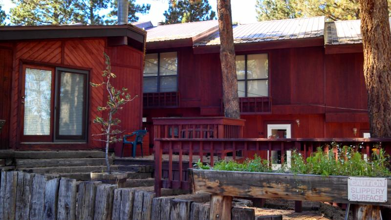 Front of unit - Walk to the  Chairlift! Great Location for family! - Angel Fire - rentals