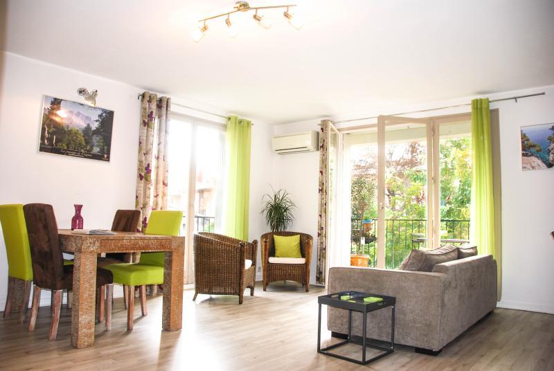 A large living room - Historical centre of Aix - Spacious and Light Apar - Aix-en-Provence - rentals