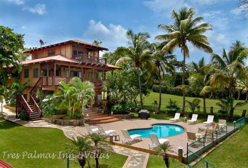 Beautiful Villa - 4-Acre Beachfront Villa, Rincon, Puerto Rico - Rincon - rentals