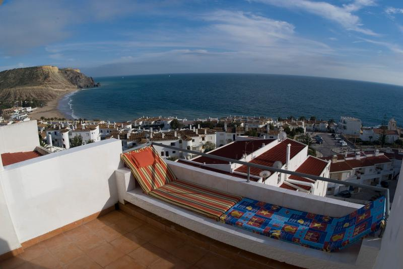 View from Balcony and both bedrooms - Casa Cian - Luxury 8th Floor Apt 270° Sea Views - Luz - rentals