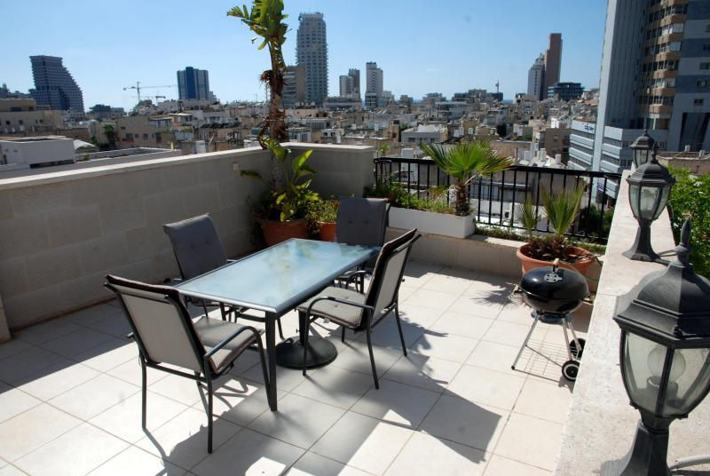 Rooftop Terrace - Bar Kochba Rooftop Tel Aviv Apartment - 3 Bedrooms - Tel Aviv - rentals