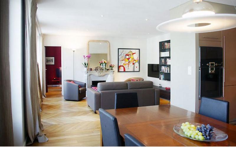 Marais 2 Bedroom 1 Bathroom with A/C (4418) - Image 1 - Paris - rentals