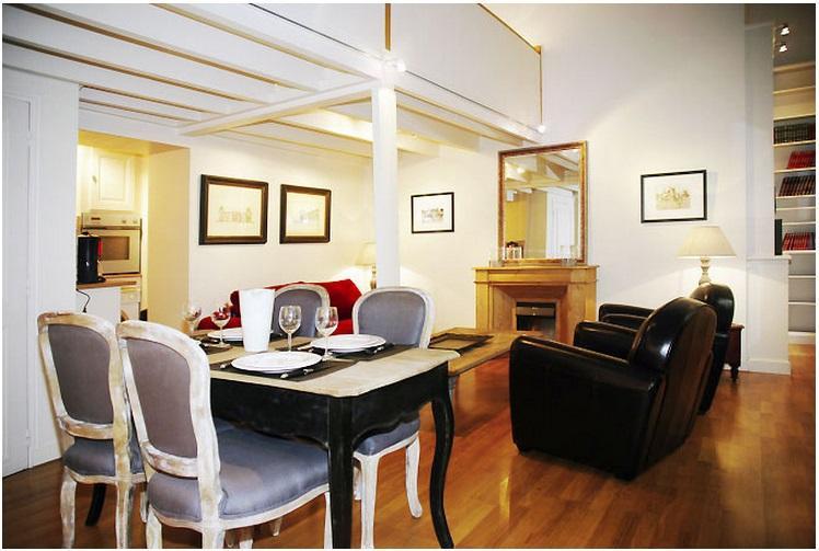 Marais 1 loft style bedroom  (4432) - Image 1 - Paris - rentals