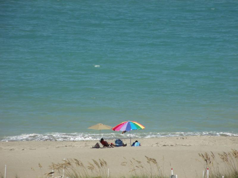 View from the front balcony - Fabulous Panoramic Ocean Views at Ocean Village Re - Hutchinson Island - rentals