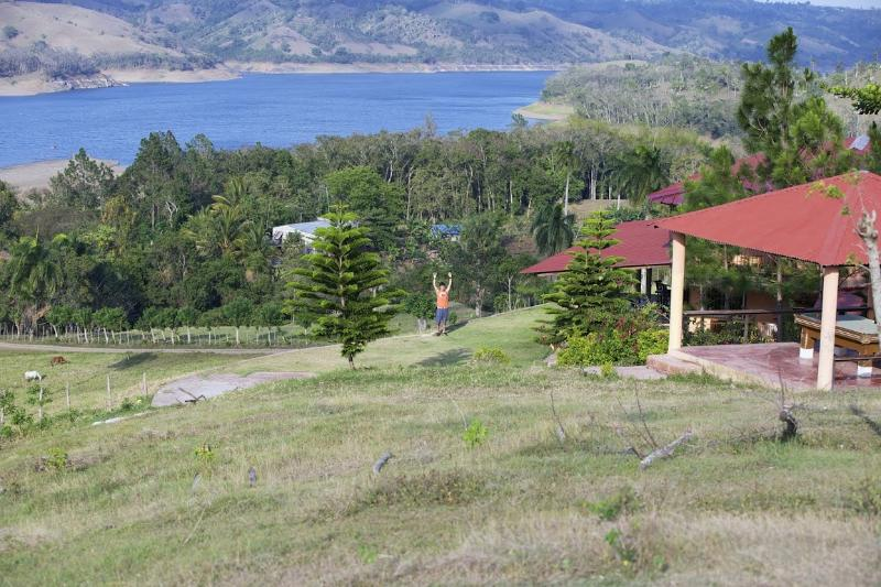 Lake view from Biljart - Caribbean Lake View Country Villa, B&B - Jarabacoa - rentals