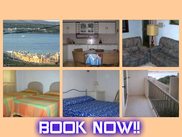 St.christopher Seaview Apartment In Picturesque Me - Image 1 - Mellieha - rentals