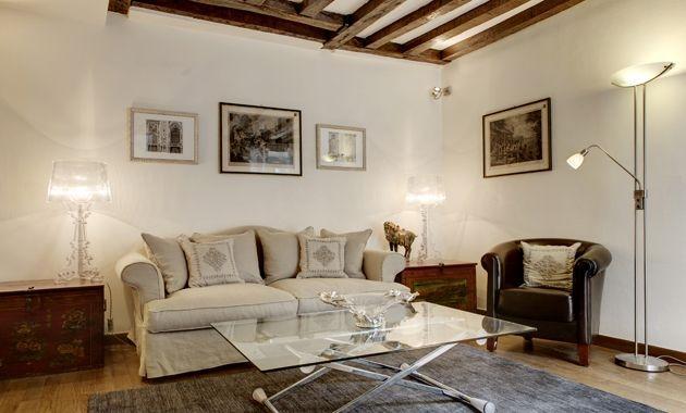 Apartment Convivial Paris apartment in 3rd arrondissement, one bedroom short term Paris rental, flat to let in Paris - Image 1 - 3rd Arrondissement Temple - rentals