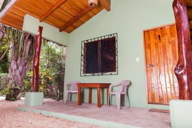 Cabin 1 Front Porch - Casa Rosada Nosara / Playa Guiones / Unit 1 - Nosara - rentals