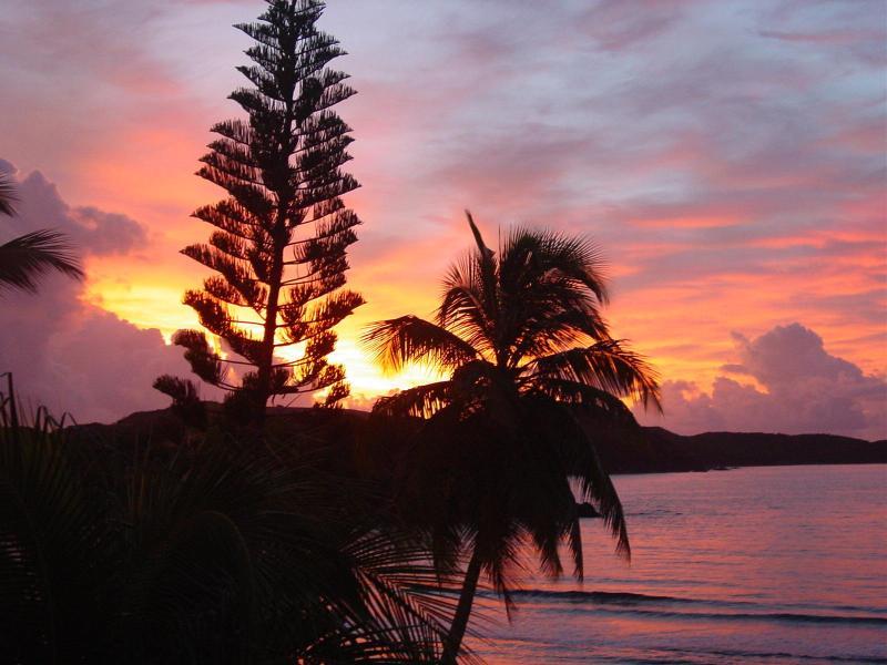 Sunrise at the studio - Studio Condo on the Waterfront at Bolongo Bay - Saint Thomas - rentals